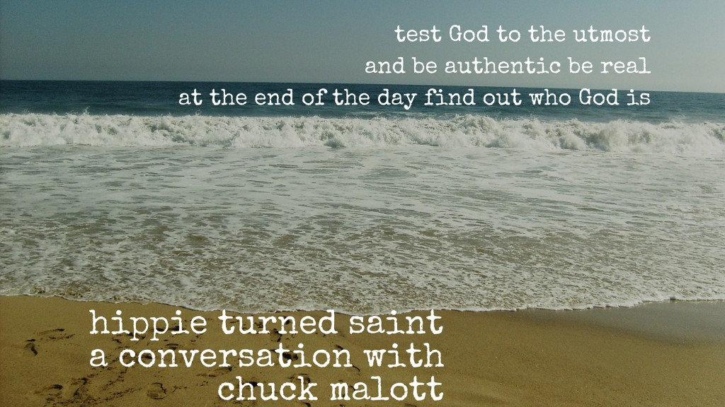 Test God to the utmost and be authentic. Be real. At the end of the day, find out who God is.(2)