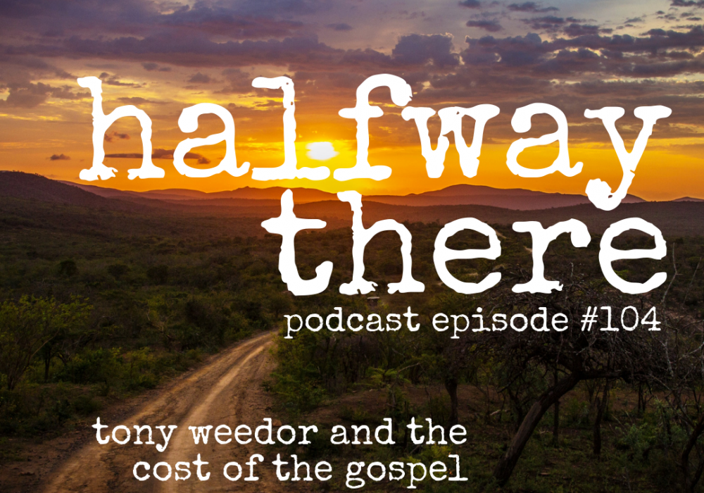 Tony Weedor and the Cost of the Gospel